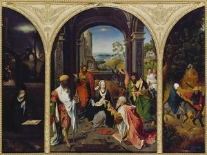 Fluegelaltar. Totale by Master of the Groote Adoration
