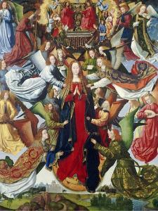 Mary, Queen of Heaven, C. 1485- 1500 by Master of the Legend of St. Lucy