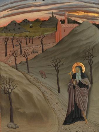 Saint Anthony the Abbot in the Wilderness, c.1435