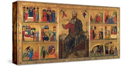 St. John Enthroned and Stories of his Life, Master of the St. John the Baptist Panel, 13th c. Italy