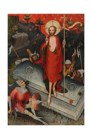 The Resurrection, SS James the Less, Bartholomew, Philip, after 1380