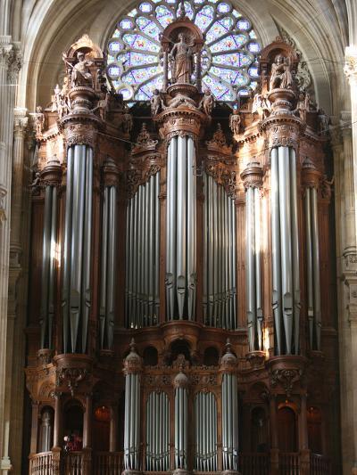 Master Organ, Saint-Eustache Church, Paris, France, Europe-Godong-Photographic Print