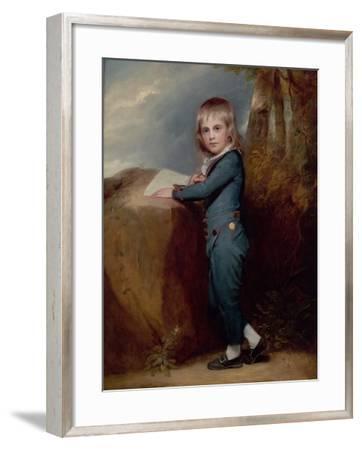 Master Tennant-George Romney-Framed Giclee Print