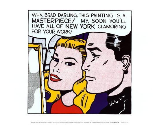 Masterpiece, 1962-Roy Lichtenstein-Art Print