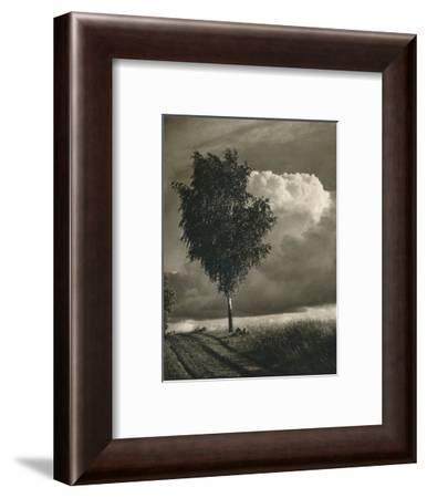 'Masuren - Brewing thunderstorm', 1931-Kurt Hielscher-Framed Photographic Print