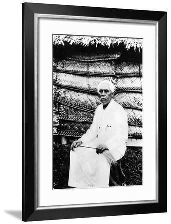 Mata'Afa Iosefo, Chief of Samoa, C.1902--Framed Photographic Print