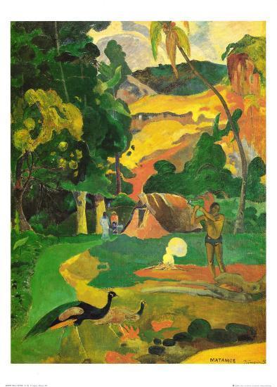 Matamoe-Paul Gauguin-Art Print