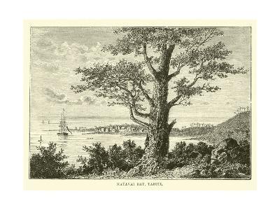 Matavai Bay, Tahiti--Giclee Print