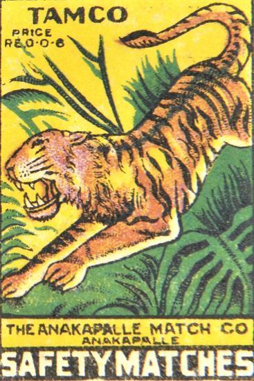 Matchbox Label--Giclee Print