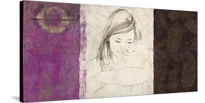 Maternite I-Simon Roux-Stretched Canvas Print