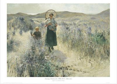 Maternite-George Hitchcock-Art Print