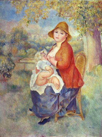 Maternity, 1885-Pierre-Auguste Renoir-Giclee Print
