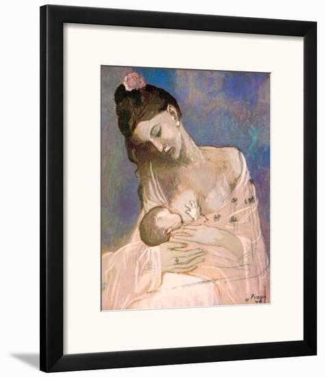 Maternity-Pablo Picasso-Framed Art Print