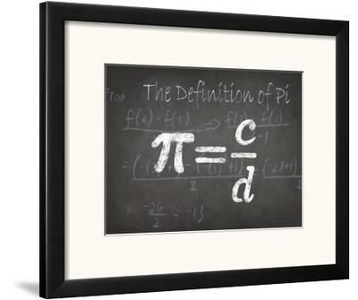 Mathematical Elements I-Ethan Harper-Framed Art Print
