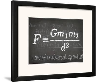 Mathematical Elements II-Ethan Harper-Framed Art Print