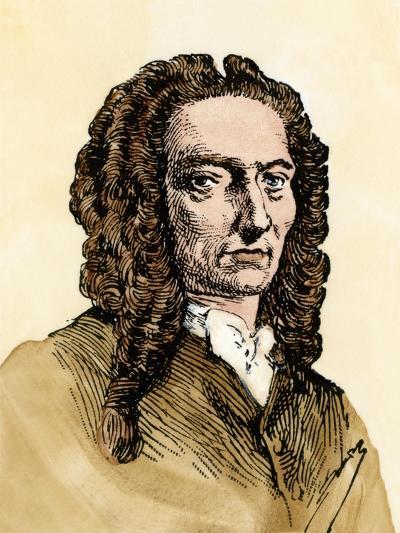 Mathematician Abraham De Moivre--Giclee Print