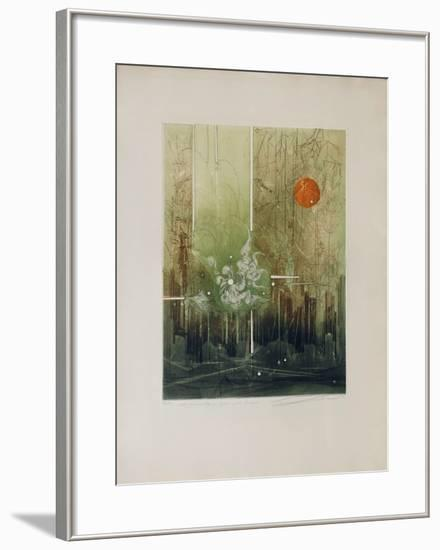 Mathématique Pour Une Évasion--Framed Limited Edition