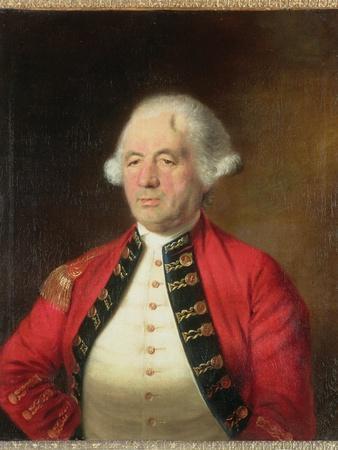 Portrait of Augustin Prevost in Uniform