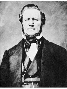 Brigham Young, American Mormon Leader, C1855-1865 by MATHEW B BRADY