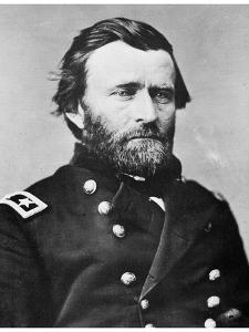 General Ulysses S Grant, American Soldier and Politician, C1860s by MATHEW B BRADY