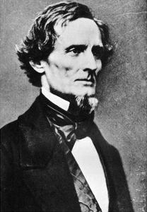 Jefferson Davis, President of the Confederate States of America, C1855-1865 by MATHEW B BRADY