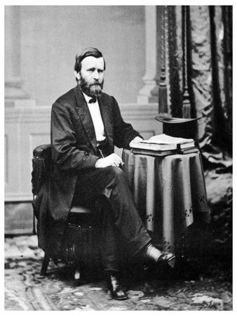 Ulysses S Grant, 18th President of the United States, C1869