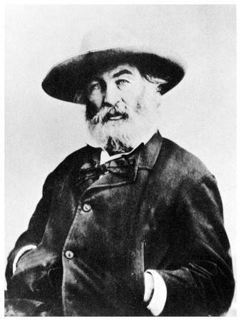 Walt Whitman, American Poet, C1866