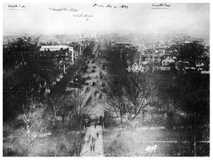 Washington Dc, USA, 1843 by MATHEW B BRADY