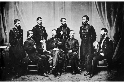 William Tecumseh Sherman and His Generals, American Civil War, 1865