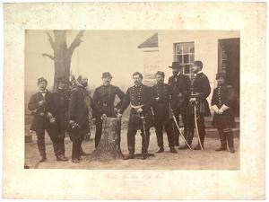 Albumen Print of General Mcclellan at Headquarters, Gen. Morrell's Brigade, 1862 by Mathew Brady