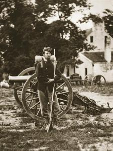 D.W.C. Arnold, a Private in the Union Army, Near Harper's Ferry, Virginia, 1861 by Mathew Brady