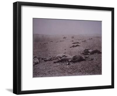 Dead Soldiers on the Battlefield of Getyysburg, 1863