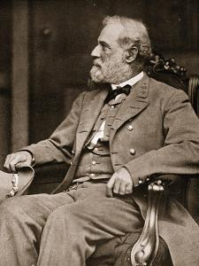General Robert E. Lee Sitting in His House in Richmond, 1865 by Mathew Brady
