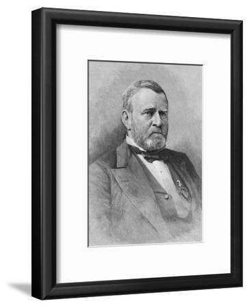 General Ulysses Simpson Grant, Engraved from a Photograph, Illustration from 'Battles and Leaders…