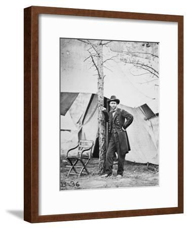 General Ulysses Simpson Grant in the Field at Cold Harbor, 1864