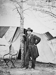 General Ulysses Simpson Grant in the Field at Cold Harbor, 1864 by Mathew Brady