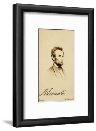 Photographic Portrait of Abraham Lincoln, 1864