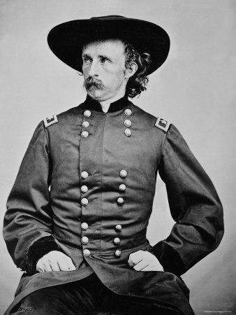 Portrait of General A. Custer