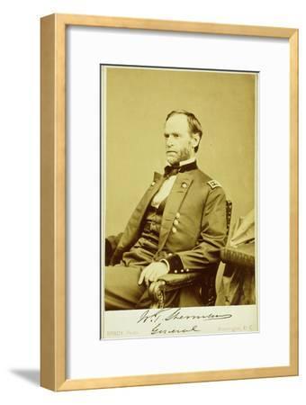 Portrait Photograph of William Tecumseh Sherman