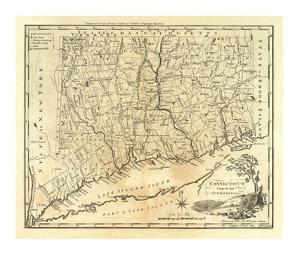 Connecticut, c.1795 by Mathew Carey