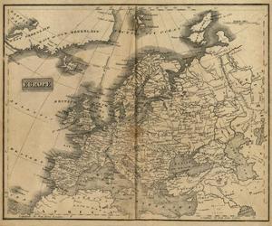 Europe, c.1825 by Mathew Carey