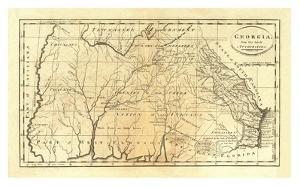 State of Georgia, c.1795 by Mathew Carey