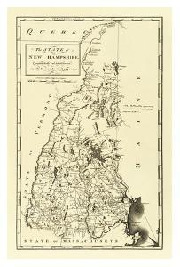 State of New Hampshire, c.1795 by Mathew Carey