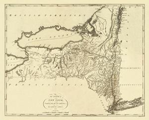 State of New York, c.1795 by Mathew Carey