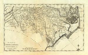 State of North Carolina, c.1795 by Mathew Carey
