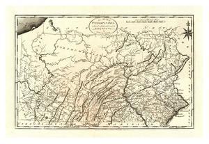 State of Pennsylvania, c.1795 by Mathew Carey
