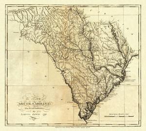 State of South Carolina, c.1795 by Mathew Carey