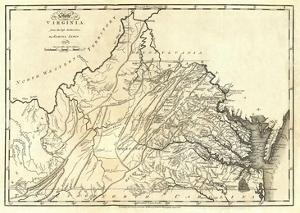 State of Virginia, c.1795 by Mathew Carey