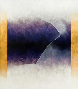Ouroboros Three: Blue, 2010 by Mathew Clum
