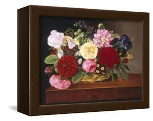 Rich Still Life of Flowers by Mathias Grove